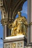 Albert pomnik Londyn, Anglia - Obraz Stock