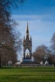 Albert pomnik w Hyde parku, Londyn, Anglia Zdjęcie Stock