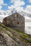 Albert Premier Hut in Alps Royalty Free Stock Photos