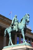 Albert Prince Consort statue, Liverpool. Royalty Free Stock Photos