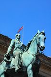Albert Prince Consort statue, Liverpool. Stock Image