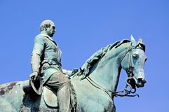 Albert Prince Consort statue, Liverpool. Royalty Free Stock Photo