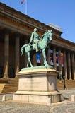 Albert Prince Consort statue, Liverpool. Stock Photography