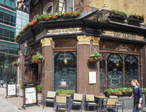 Albert Pub in London Stock Photos