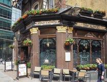 Albert pub w Londyn Zdjęcia Stock
