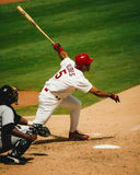 Albert Pujols from his rookie season. Royalty Free Stock Images