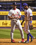 Albert Pujols and Jose Reyes. Royalty Free Stock Photos