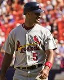 Albert Pujols St Louis Cardinals Royaltyfria Foton