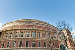 Albert royal Hall à Londres, Angleterre Photographie stock