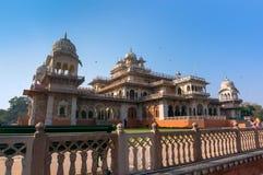 Albert sala muzeum w Jaipur ind fotografia stock