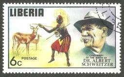 Albert Schweitzer, ballerino indigeno Immagini Stock