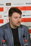 Albert Serra bij Internationaal de Filmfestival van Moskou Royalty-vrije Stock Foto