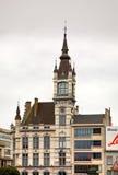 Albert Square in Charleroi belgië royalty-vrije stock foto