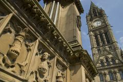 Albert Square Manchester. Stock Photo