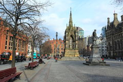 Albert Square in Manchester. England Stock Photos