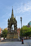 Albert square Manchester Stock Images