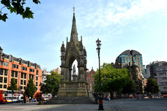 Albert square Manchester Royalty Free Stock Photo