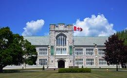 Albert szkoła wyższa, Belleville, Ontario obraz stock