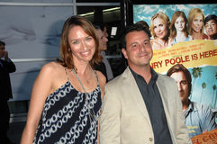 Albert Torres and Wife Stock Images