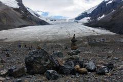 alberta athabasca Canada kanadyjski Columbia sławny lodowa icefield jaspis najwięcej park narodowy Rockies brać Zdjęcia Royalty Free