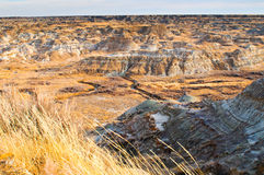 Alberta Badlands Royalty Free Stock Photography