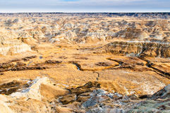 Alberta Badlands Royalty Free Stock Photo