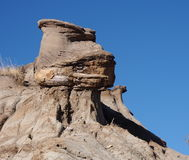 Alberta Badlands And Hoodoos Arkivbild