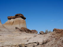 Alberta Badlands And Hoodoos Royaltyfria Bilder
