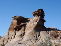 Alberta Badlands And Hoodoos Royalty Free Stock Images