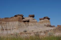 Alberta Badlands And Hoodoos Royalty Free Stock Photos