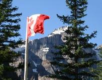 alberta banff Kanada Royaltyfri Fotografi