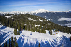 Whistler. Beautiful British Columbia, Canadian Rockies Whitler Stock Images