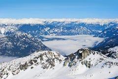 Whistler. Beautiful British Columbia, Canadian Rockies Whitler Royalty Free Stock Image