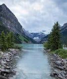 alberta Canada jeziora Louise Obraz Stock