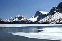 Alberta Canada Prairie, bergen en meren stock fotografie
