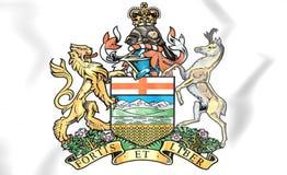 Alberta Coat av armar, Kanada stock illustrationer