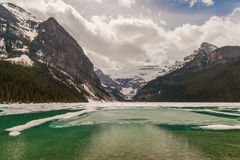alberta jezioro Canada Louise Obrazy Royalty Free