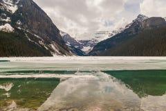 alberta jezioro Canada Louise Zdjęcie Stock