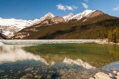 alberta jezioro Canada Louise Zdjęcie Royalty Free