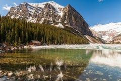alberta jezioro Canada Louise Zdjęcia Royalty Free