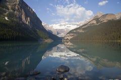 alberta jezioro Canada Louise Obraz Royalty Free