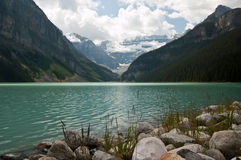 alberta Kanada Lake Louise Royaltyfria Bilder