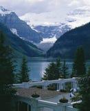 alberta Kanada Lake Louise Arkivbild