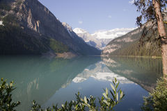 alberta Kanada Lake Louise Arkivfoton