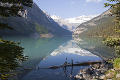 alberta Kanada Lake Louise Royaltyfri Fotografi