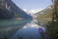 alberta Kanada Lake Louise Arkivfoto