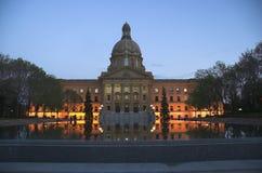 alberta lagstiftande församling royaltyfri bild