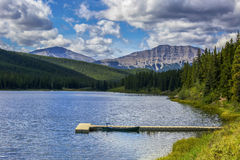 Alberta Lake Stock Photos