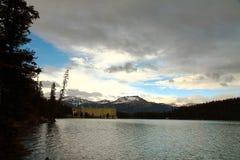 alberta Lake Louise Royaltyfria Bilder