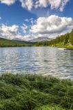 Alberta Lake Stock Image